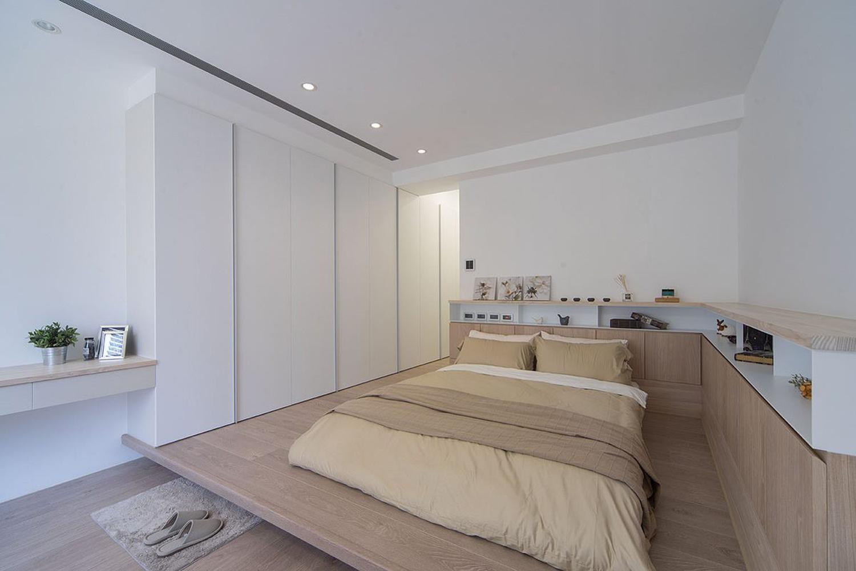 日式兩室一廳裝修效果圖