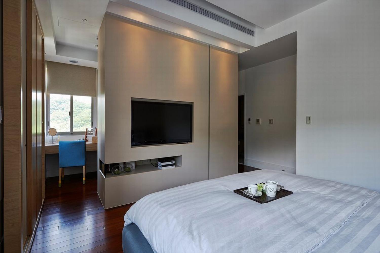 現代時尚適用裝修效果圖兩室一廳