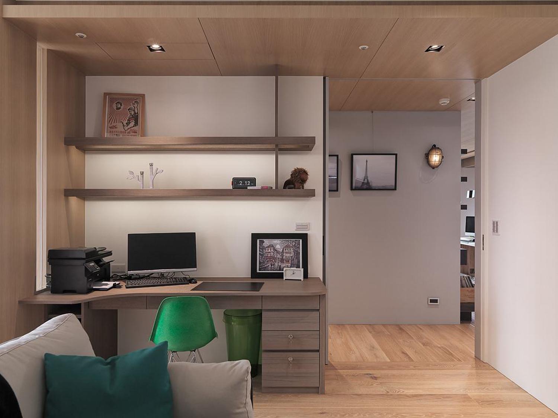 混搭兩室一廳裝修效果圖開闊空間