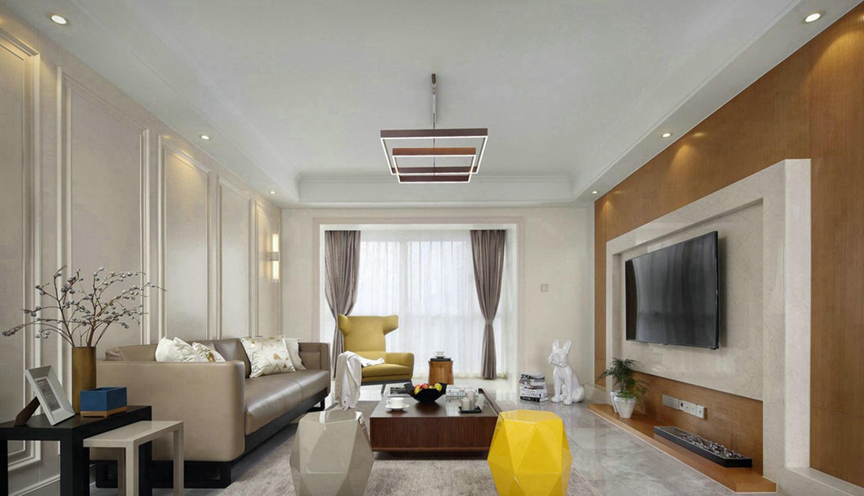 北歐兩室一廳裝修效果圖清淡舒服