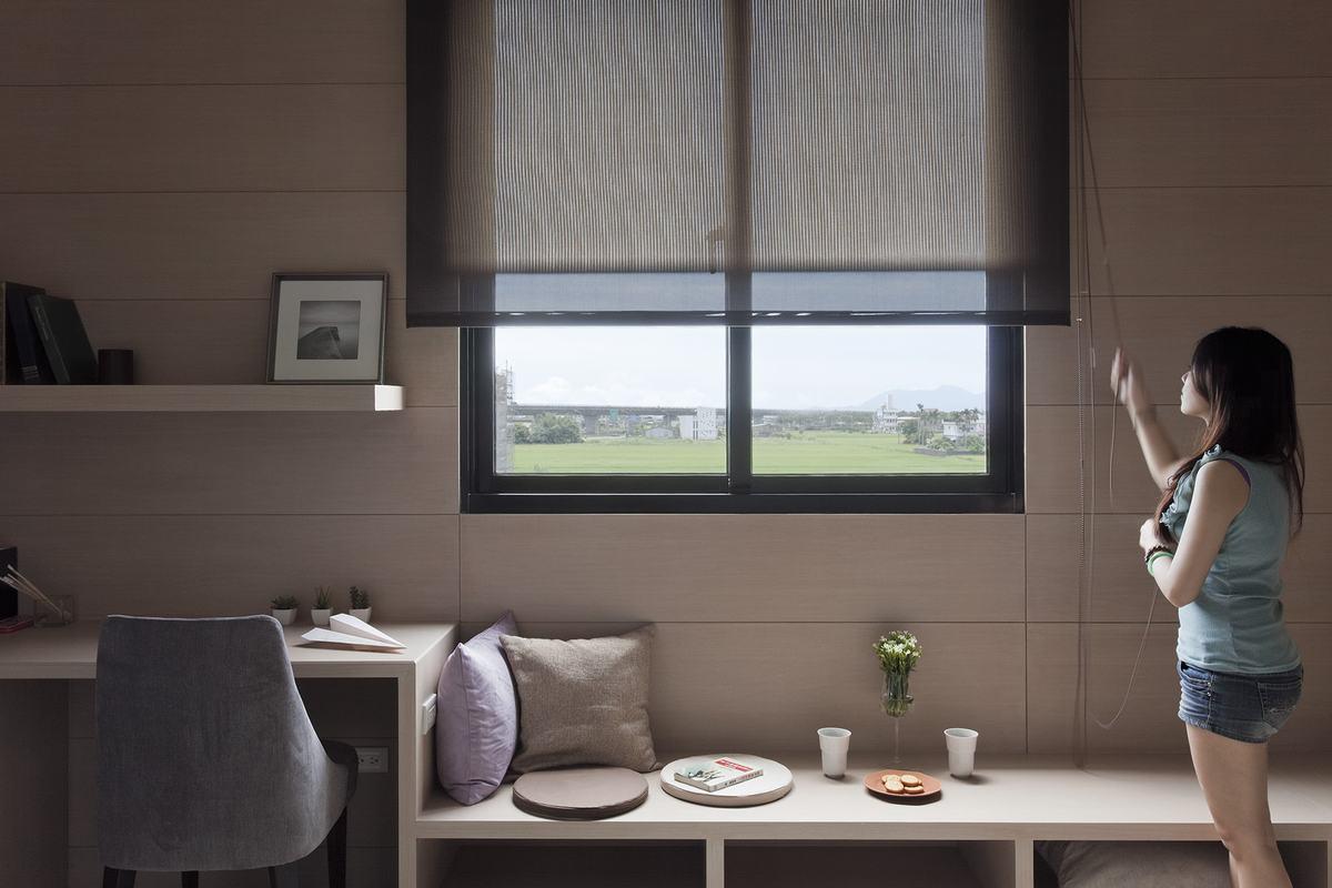 现代 两室一厅 格局超赞装修效果图