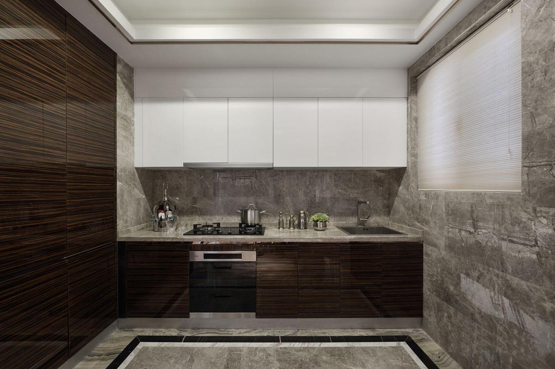 干凈米色客廳裝修實景圖