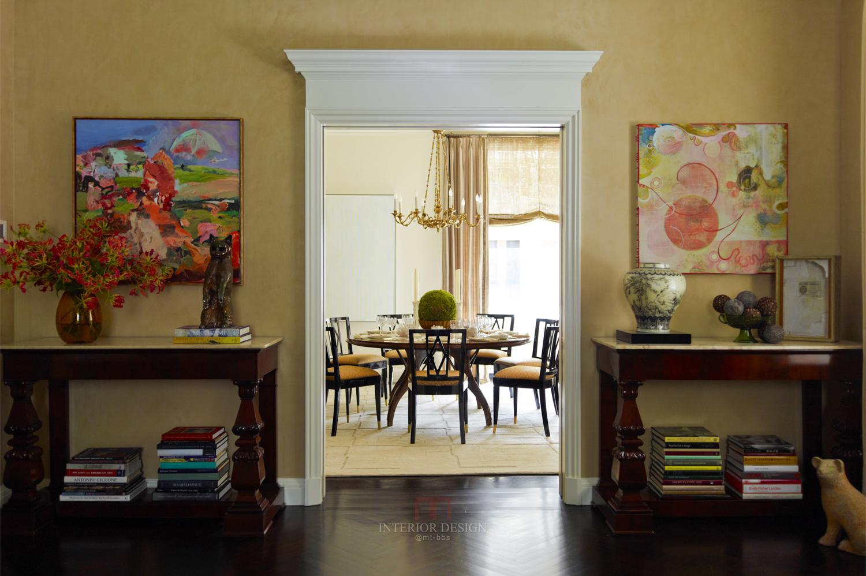 美式四室一厅装修效果图