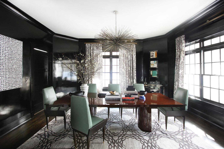 180平米四室一廳新古典裝修效果圖