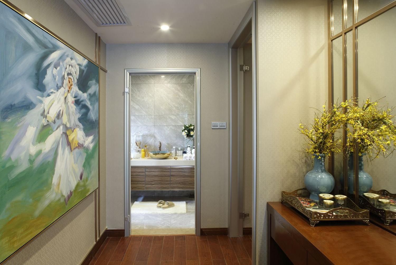 東方之美新式四室一廳裝修效果圖