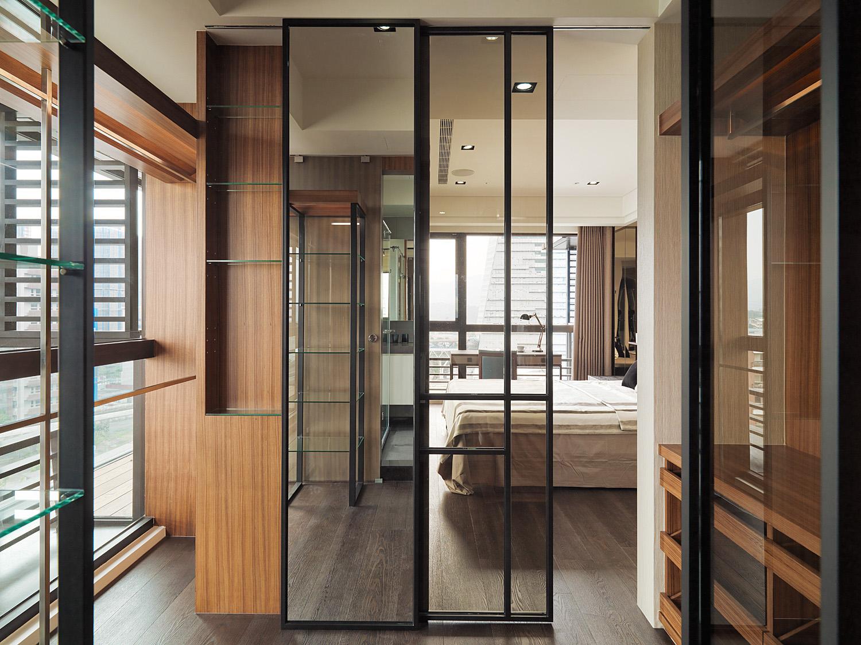 現代簡約173平米四居室裝修設計圖片