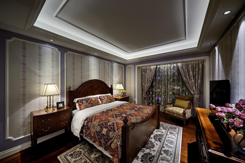 三室一厅美式装修效果图