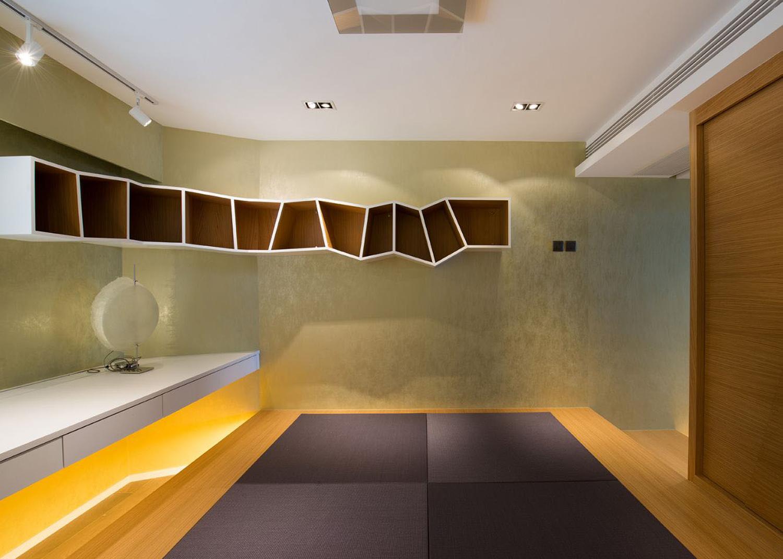現代四室一廳裝修效果圖