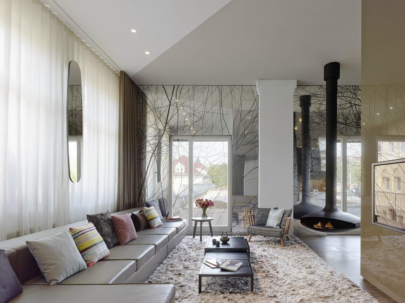 复古轻奢风时尚大气的现代家居