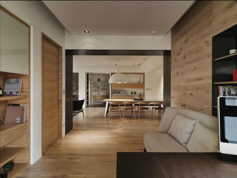 日式设计风格三室一厅装修效果图