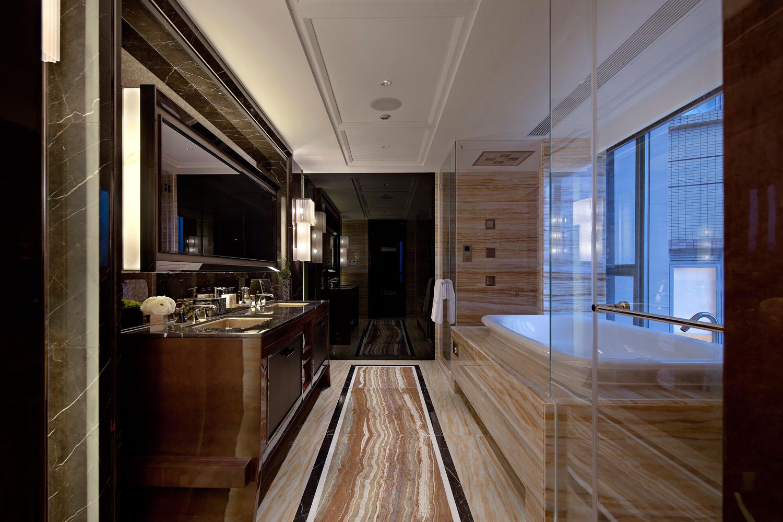 新中式三室一厅中国传统风格装修效果图