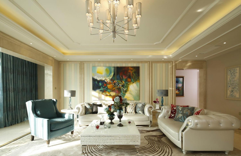 別墅現代簡約風藍調設計