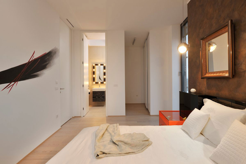 现代三室一厅装修效果图