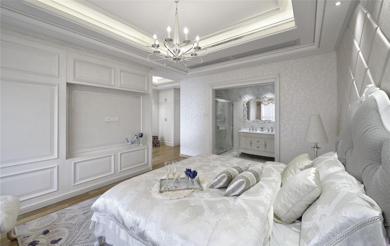 潔凈素雅的白色臥室裝修設計
