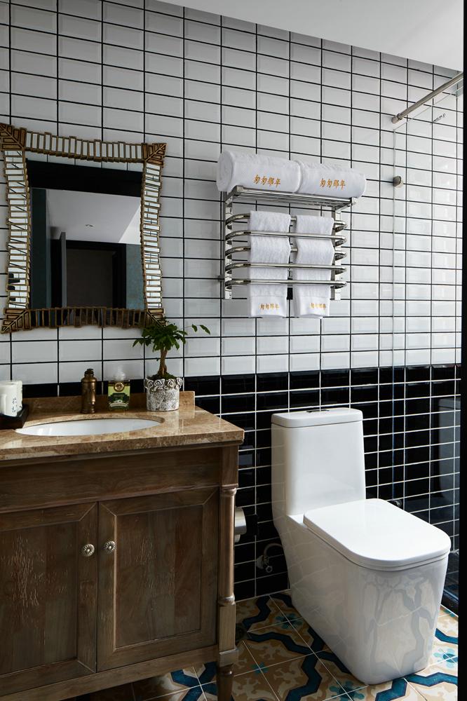 美式卫生间装修